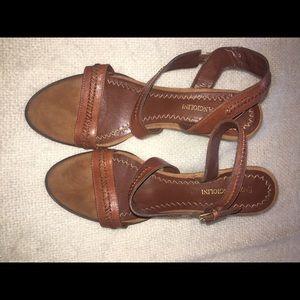Enzo wedge heels